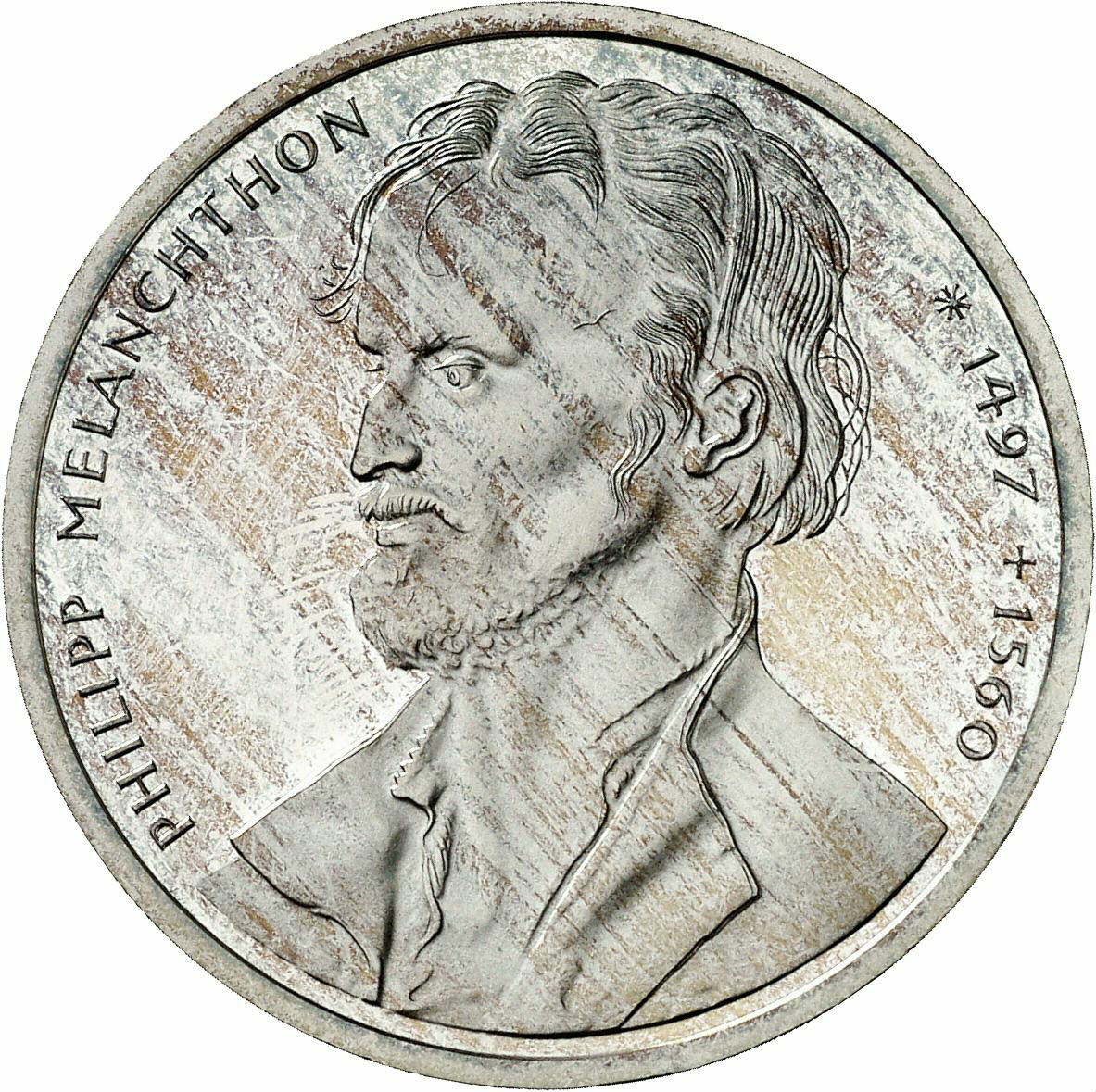 DE 10 Deutsche Mark 1997 D