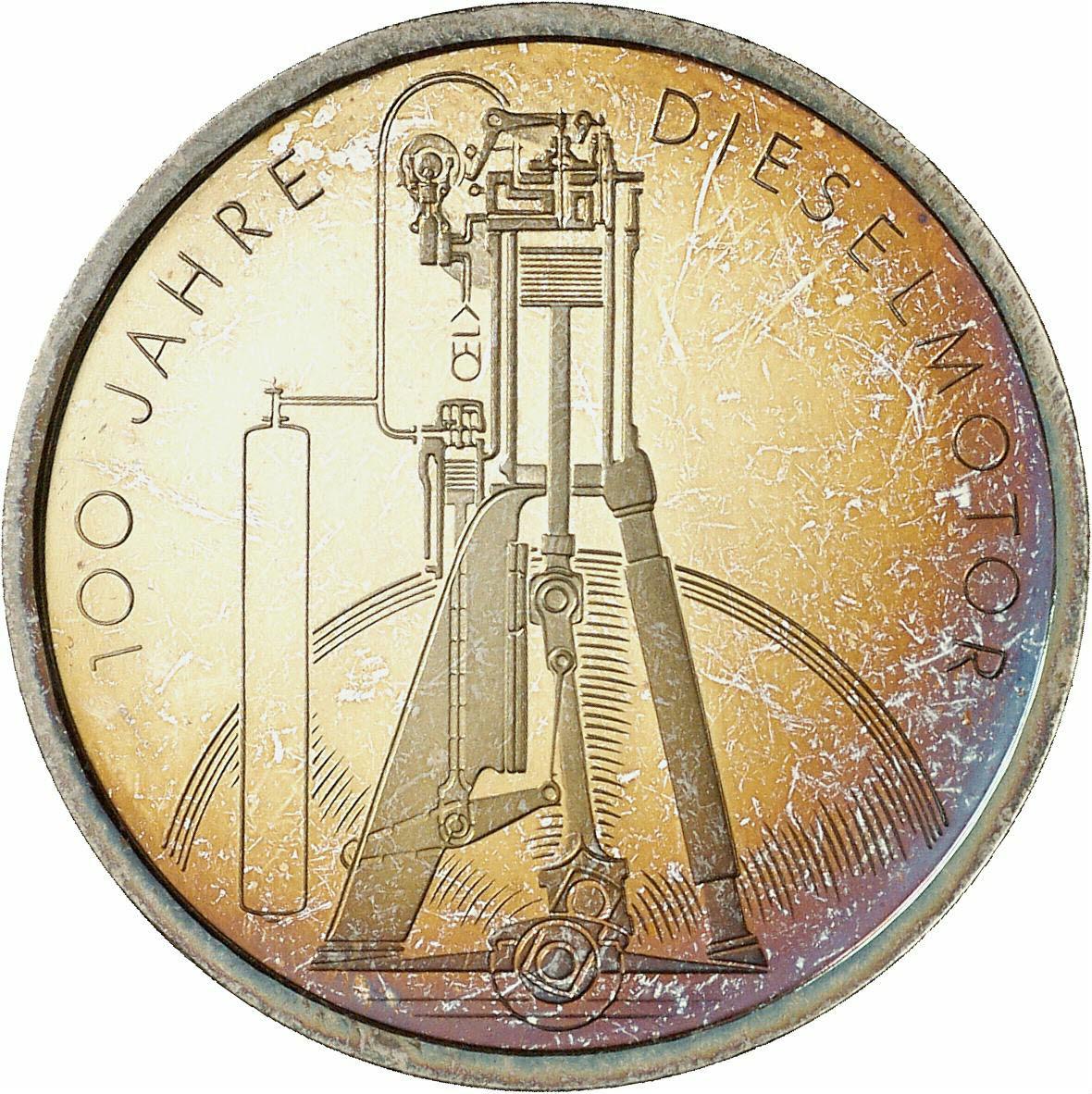 DE 10 Deutsche Mark 1997 D