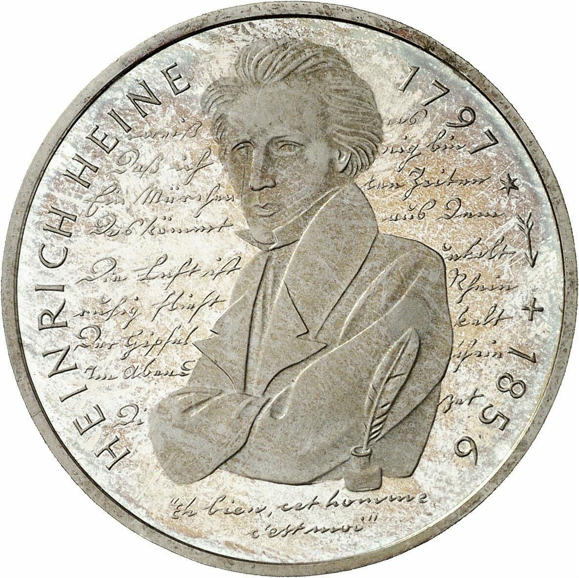DE 10 Deutsche Mark 1997 F