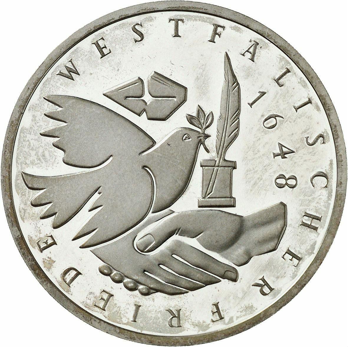 DE 10 Deutsche Mark 1998 J