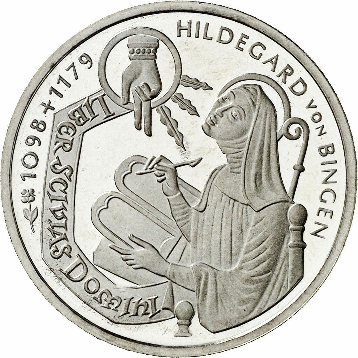 DE 10 Deutsche Mark 1998 D
