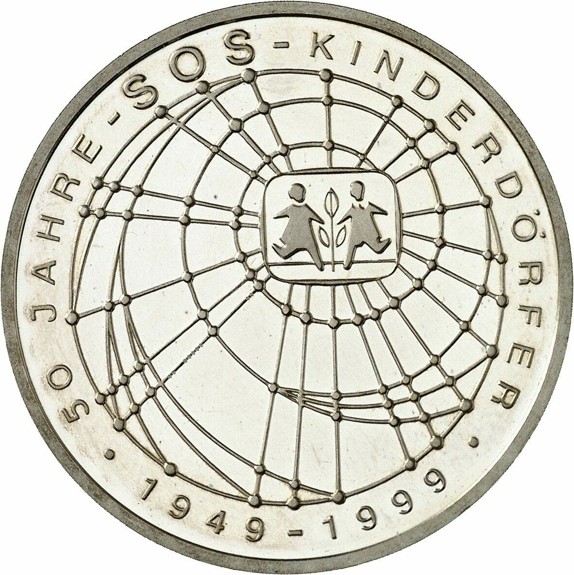 DE 10 Deutsche Mark 1999 J