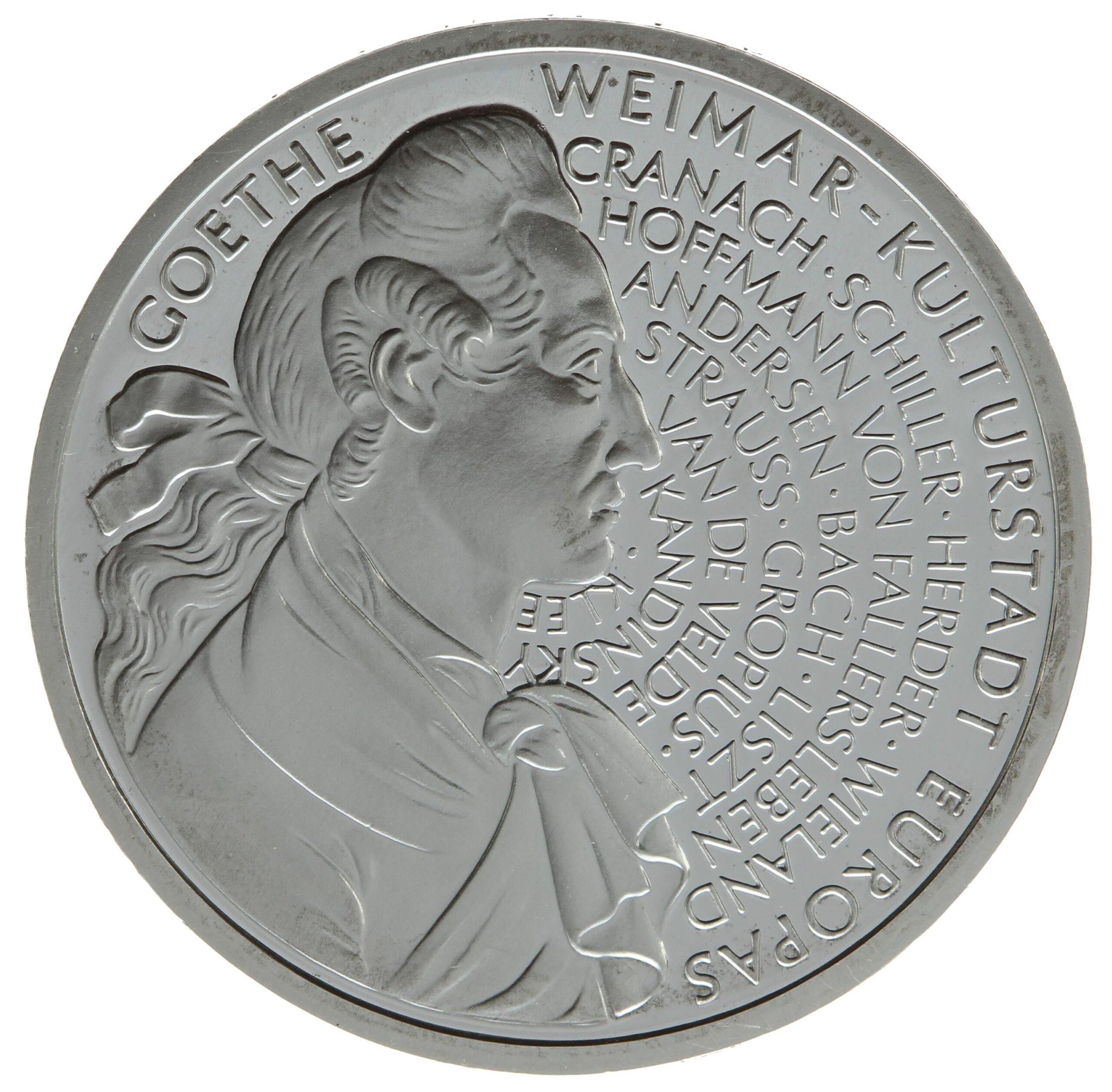 DE 10 Deutsche Mark 1999 F