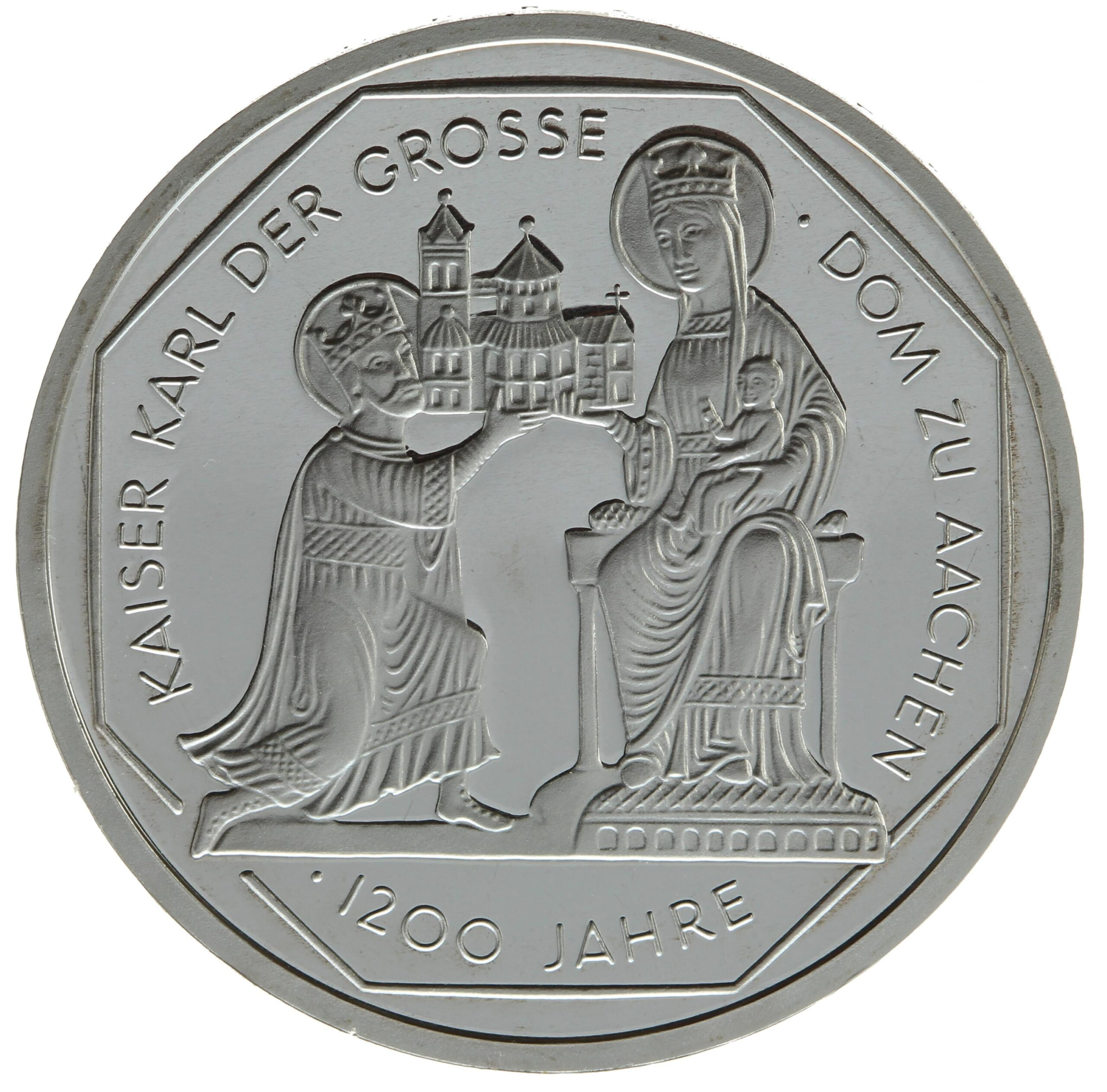 DE 10 Deutsche Mark 2000 J