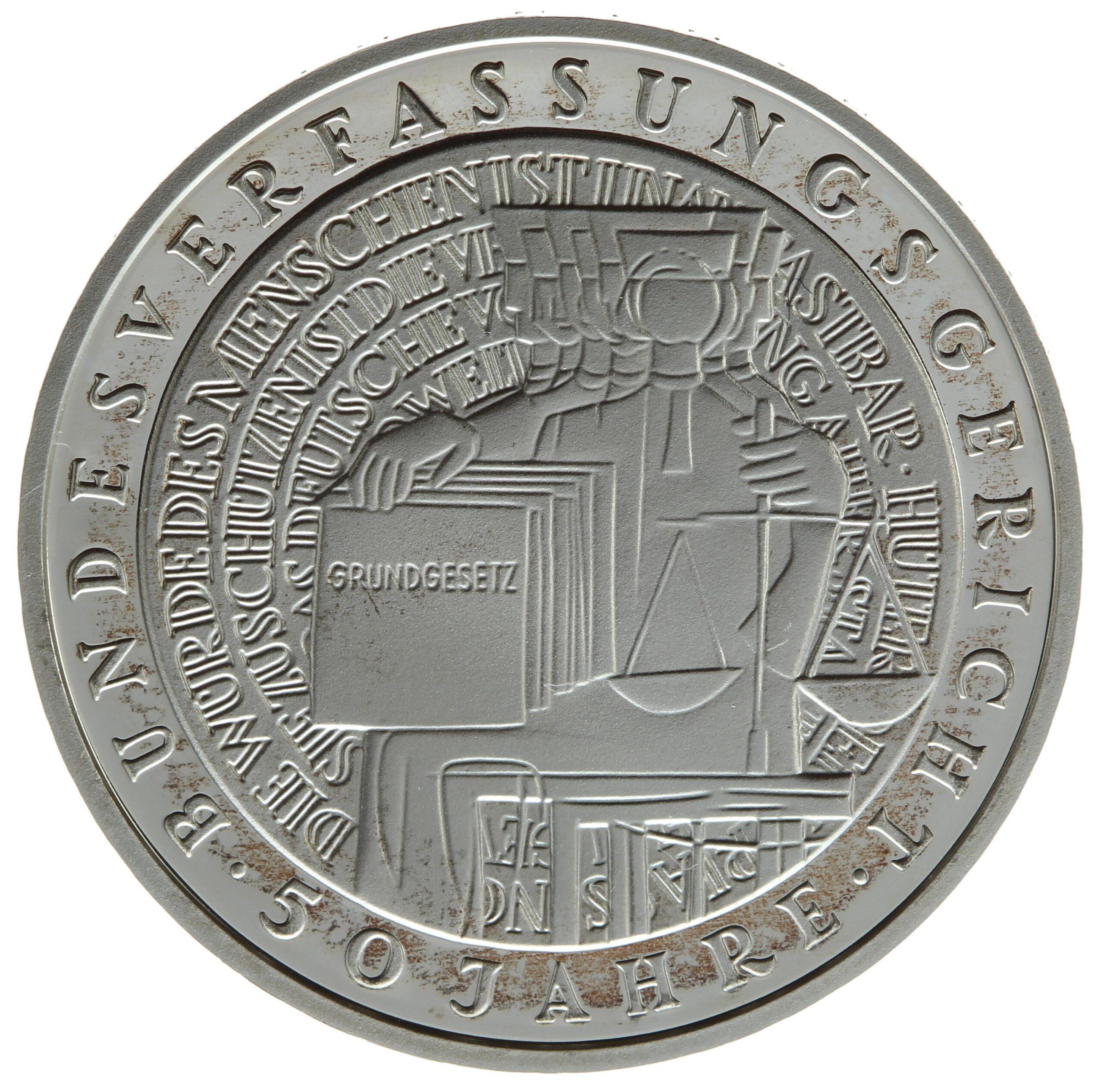 DE 10 Deutsche Mark 2001 F