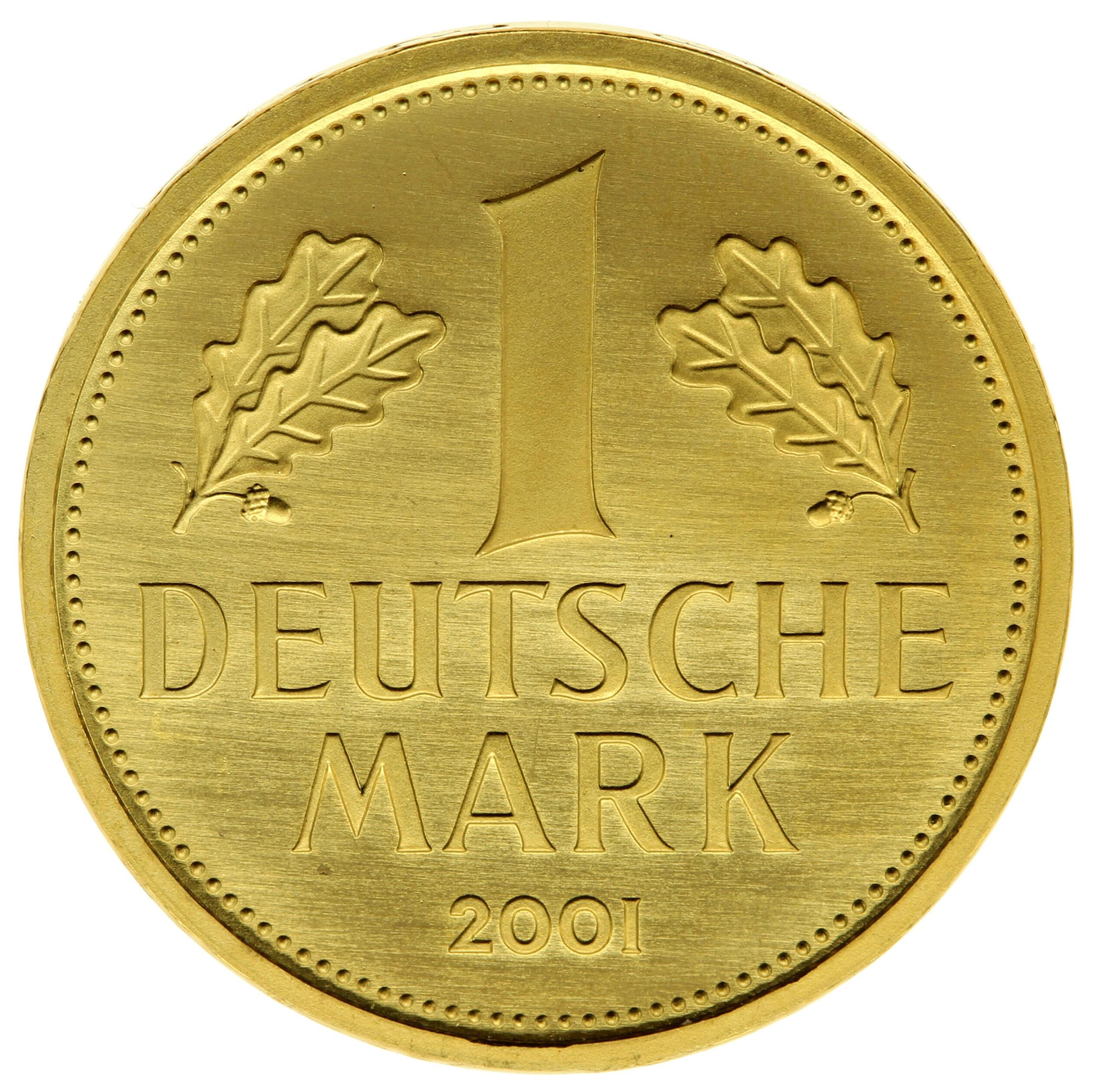 DE 1 Deutsche Mark 2001 F