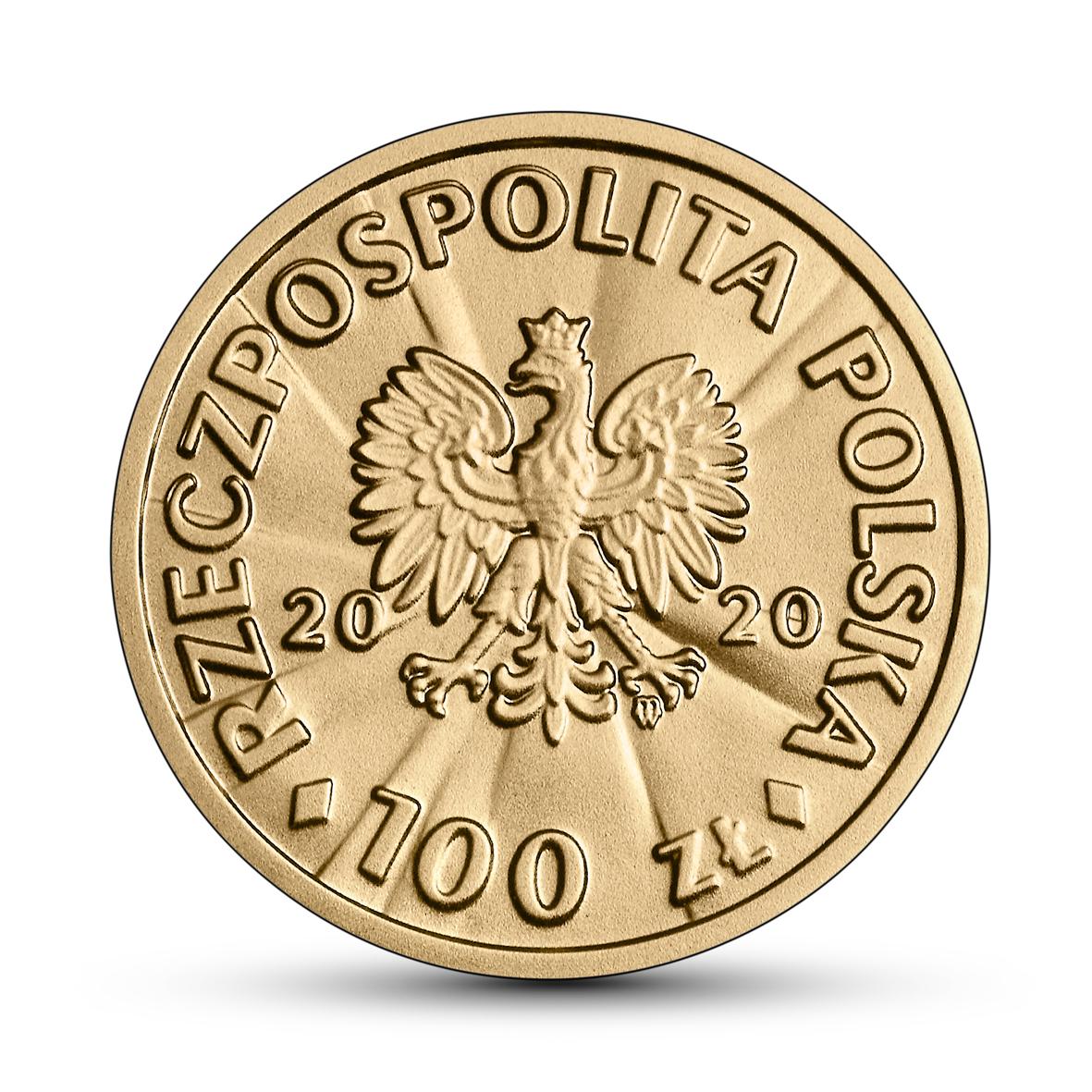 PL 100 Zloty 2020 monogram MW