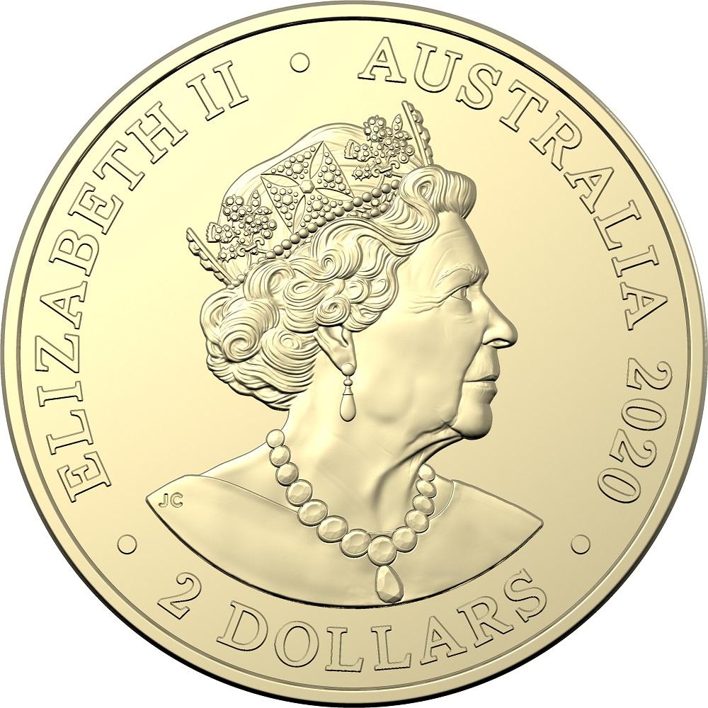 AU 2 Dollars 2020 C