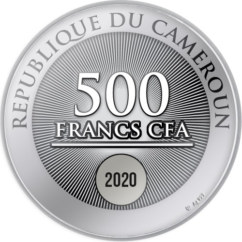 CM 500 Francs 2020 monogram MW