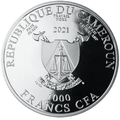 CM 1000 Francs 2021 monogram MW