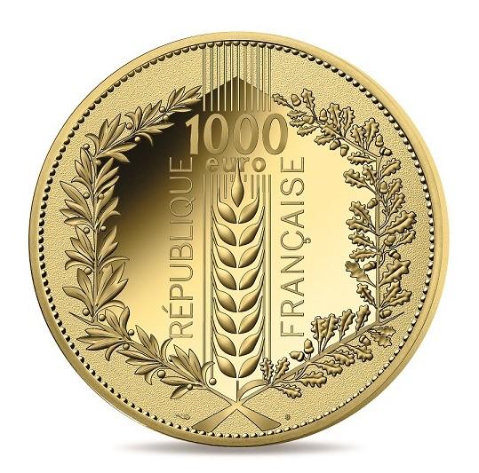 FR 1000 Euro 2020 Horn of Plenty