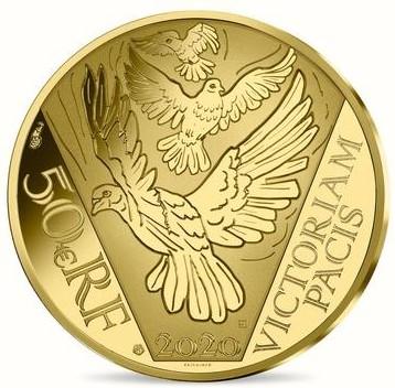 FR 50 Euro 2020 Horn of Plenty