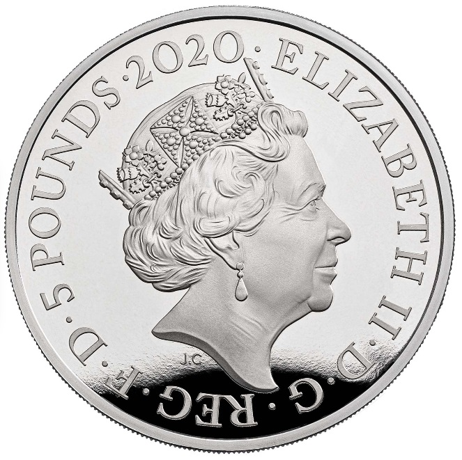 GB 5 Pounds 2020