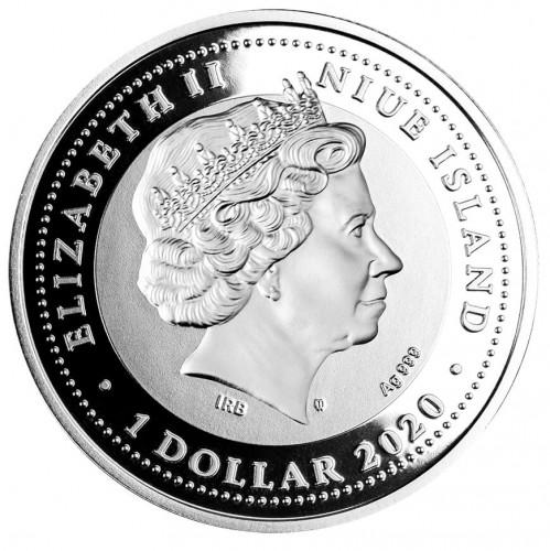 NU 1 Dollar 2020 Monogram MW