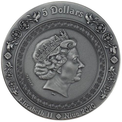 NU 5 Dollars 2019 Monogram MW