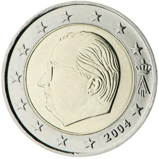 BE 2 Euro 1999 Angel's Head