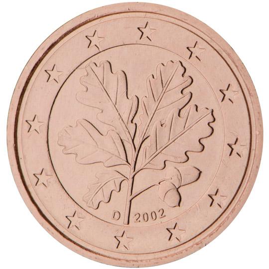 DE 1 Cent 2002 D