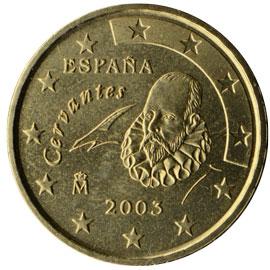 ES 10 Cent 2000 Real Casa de la Moneda Logo