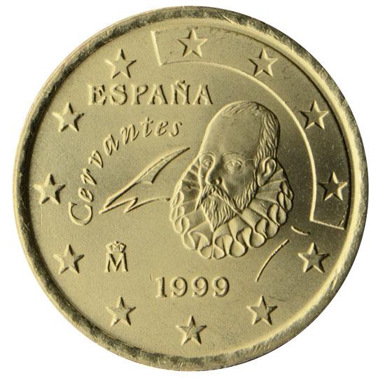 ES 50 Cent 2000 Real Casa de la Moneda Logo