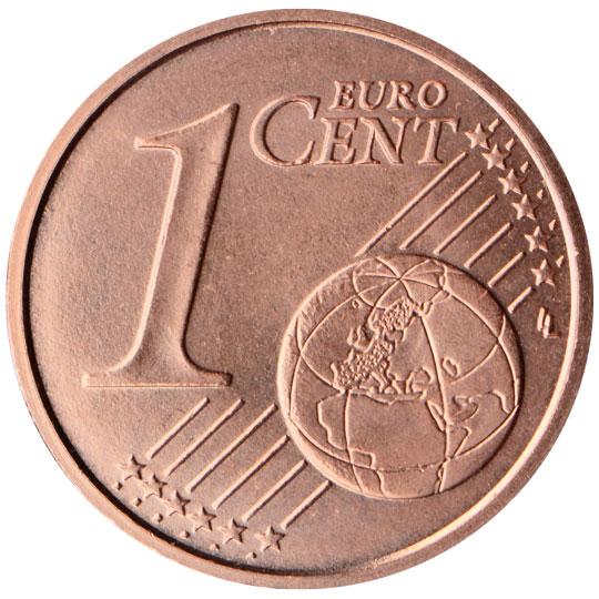 LT 1 Cent 2015 Lithuanian Mint Logo