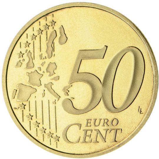 ES 50 Cent 1999 Real Casa de la Moneda Logo