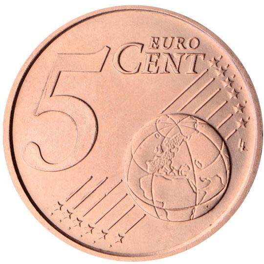 ES 5 Cent 1999 Real Casa de la Moneda Logo