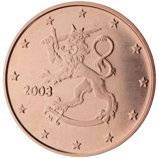 FI 1 Cent 2013 Lion