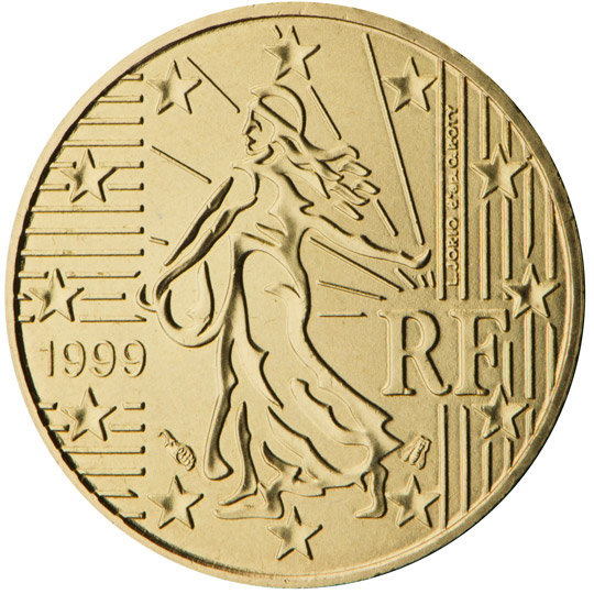 FR 10 Cent 1999 Horn of Plenty