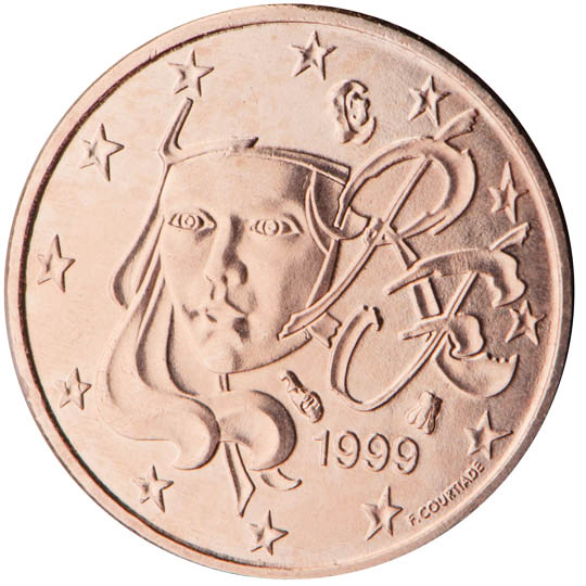 FR 1 Cent 1999 Horn of Plenty