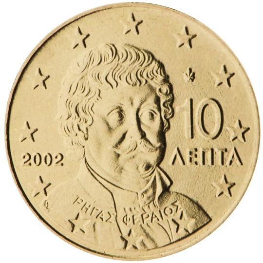 GR 10 Cent 2004 Palmette