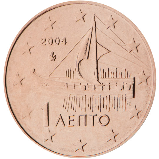 GR 1 Cent 2004 Palmette