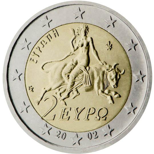 GR 2 Euro 2002 Palmette