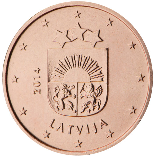 LV 1 Cent 2014