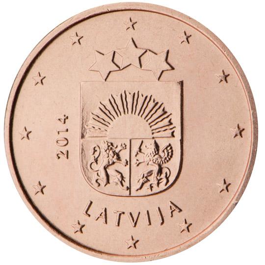LV 1 Cent 2015