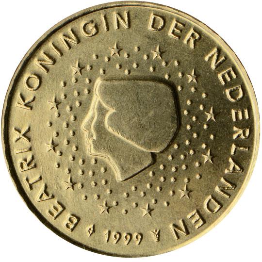 NL 10 Cent 1999 Staff of Mercury
