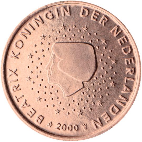 NL 5 Cent 2000 Staff of Mercury