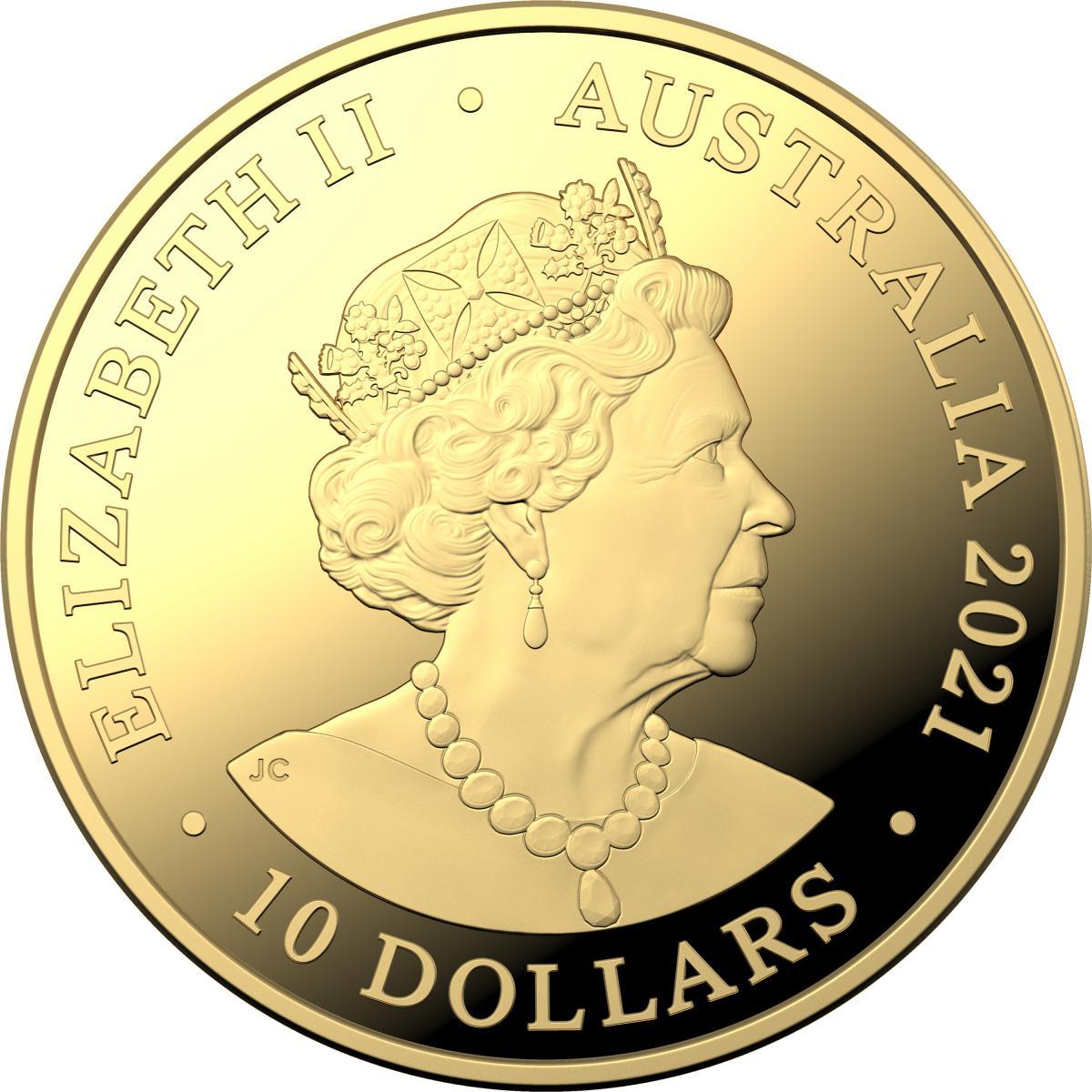 AU 10 Dollars 2021 C