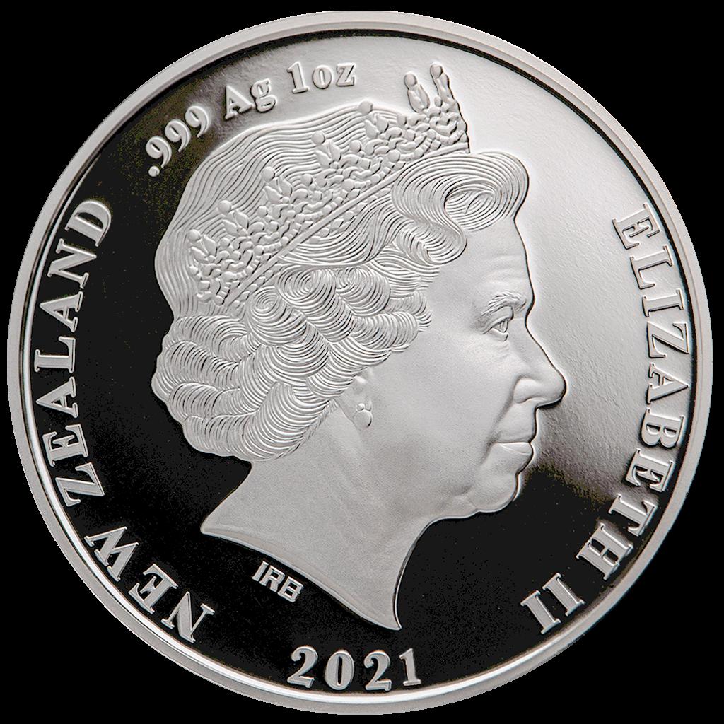 NZ 1 Dollar 2021