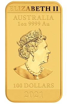 AU 100 Dollars 2021 P