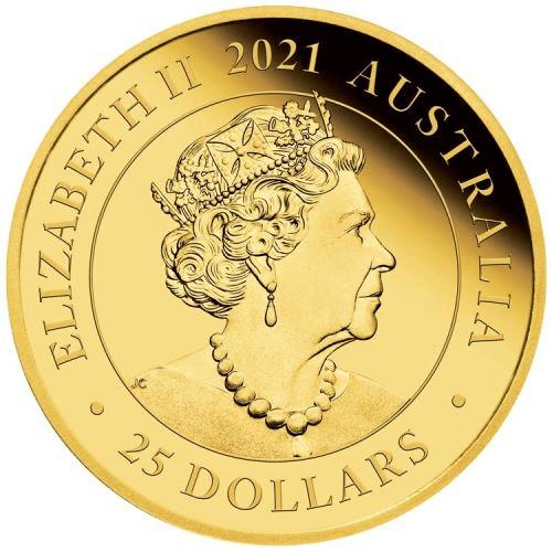 AU 25 Dollars 2021