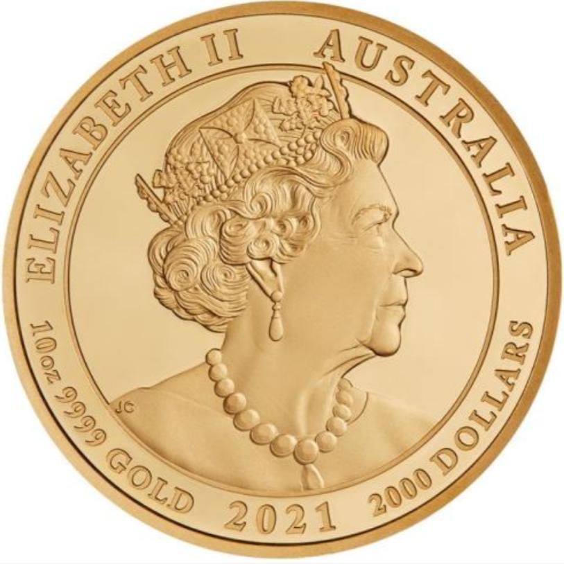 AU 2000 Dollars 2021 P