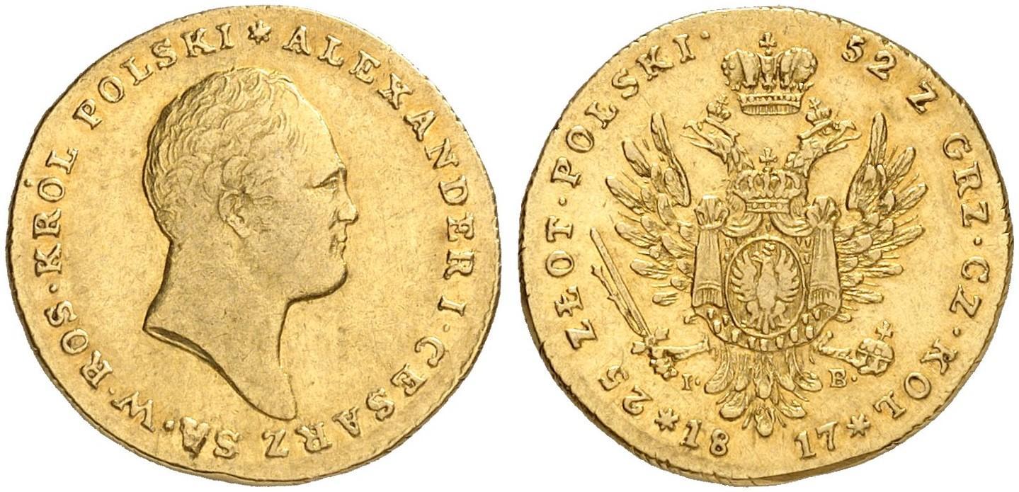 PL 25 Zloty 1817