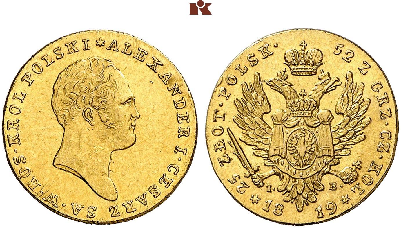 PL 25 Zloty 1819