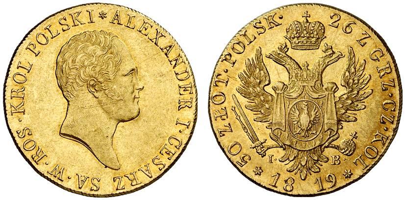 PL 50 Zloty 1819