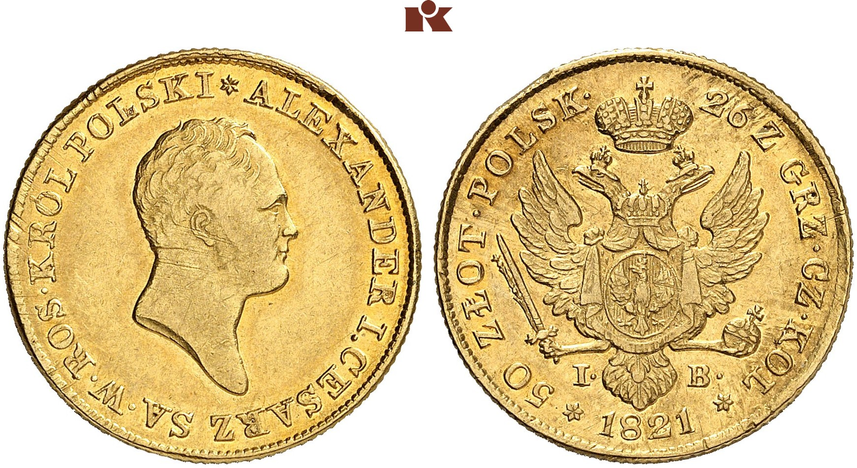 PL 50 Zloty 1821