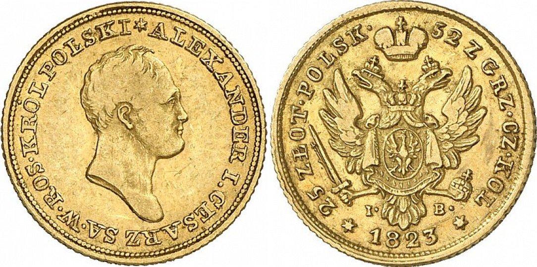 PL 25 Zloty 1823