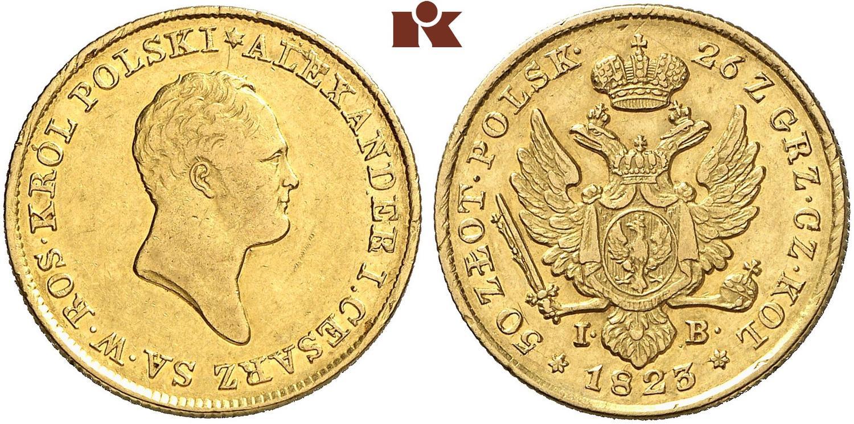 PL 50 Zloty 1823
