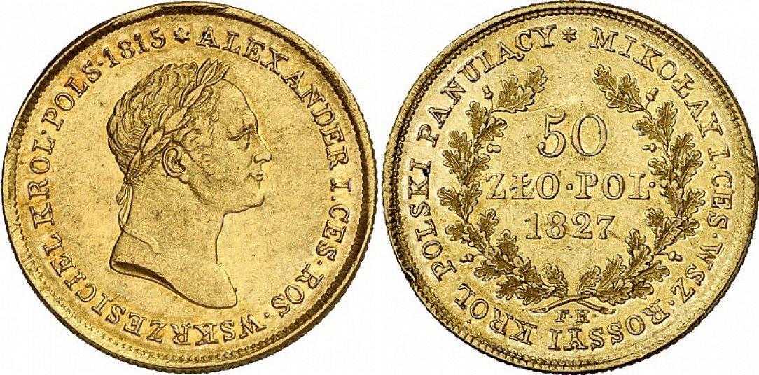 PL 50 Zloty 1827