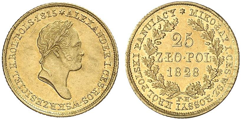 PL 25 Zloty 1828