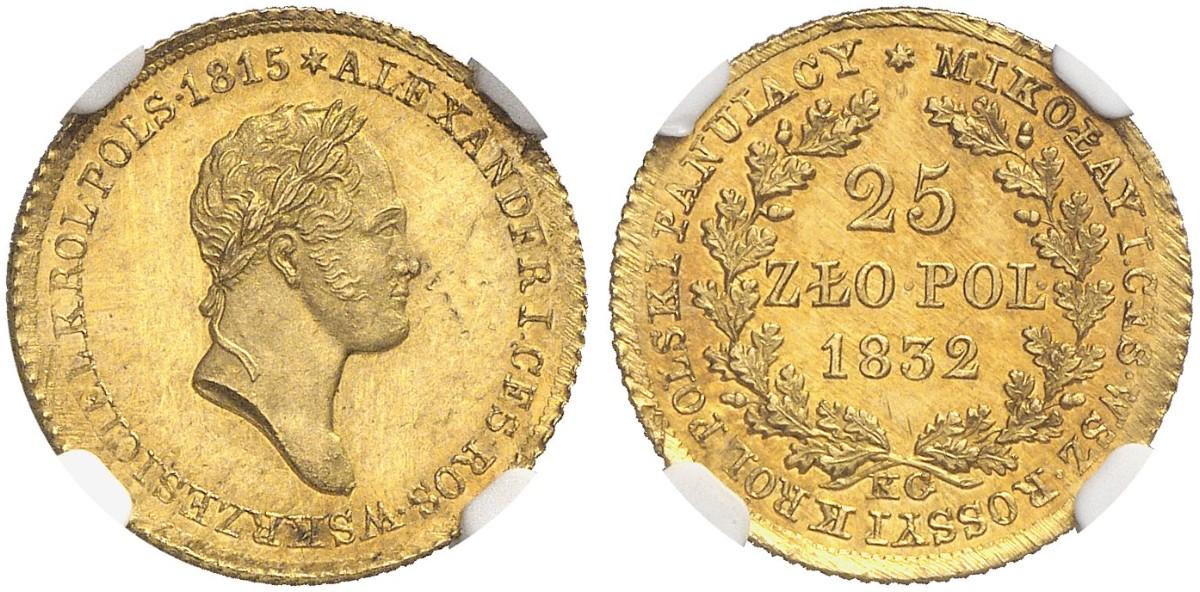 PL 25 Zloty 1832